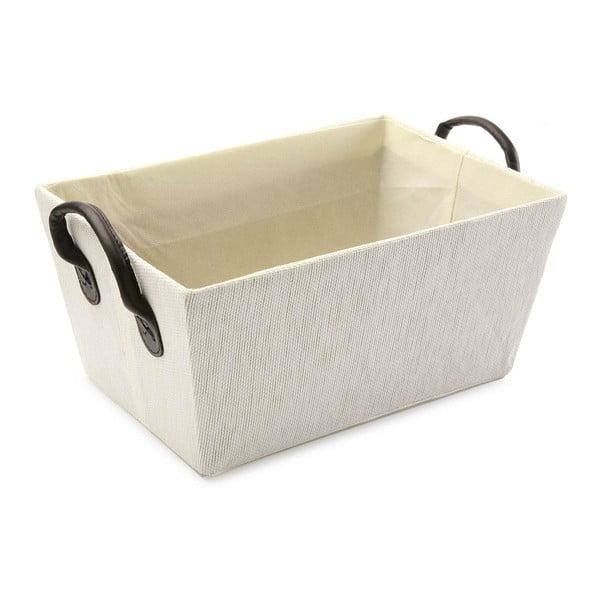 Košík s úchyty White Handle, 30x25 cm