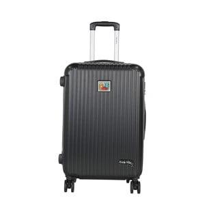 Tmavě šedý cestovní kufr LULU CASTAGNETTE Darwin, 71l