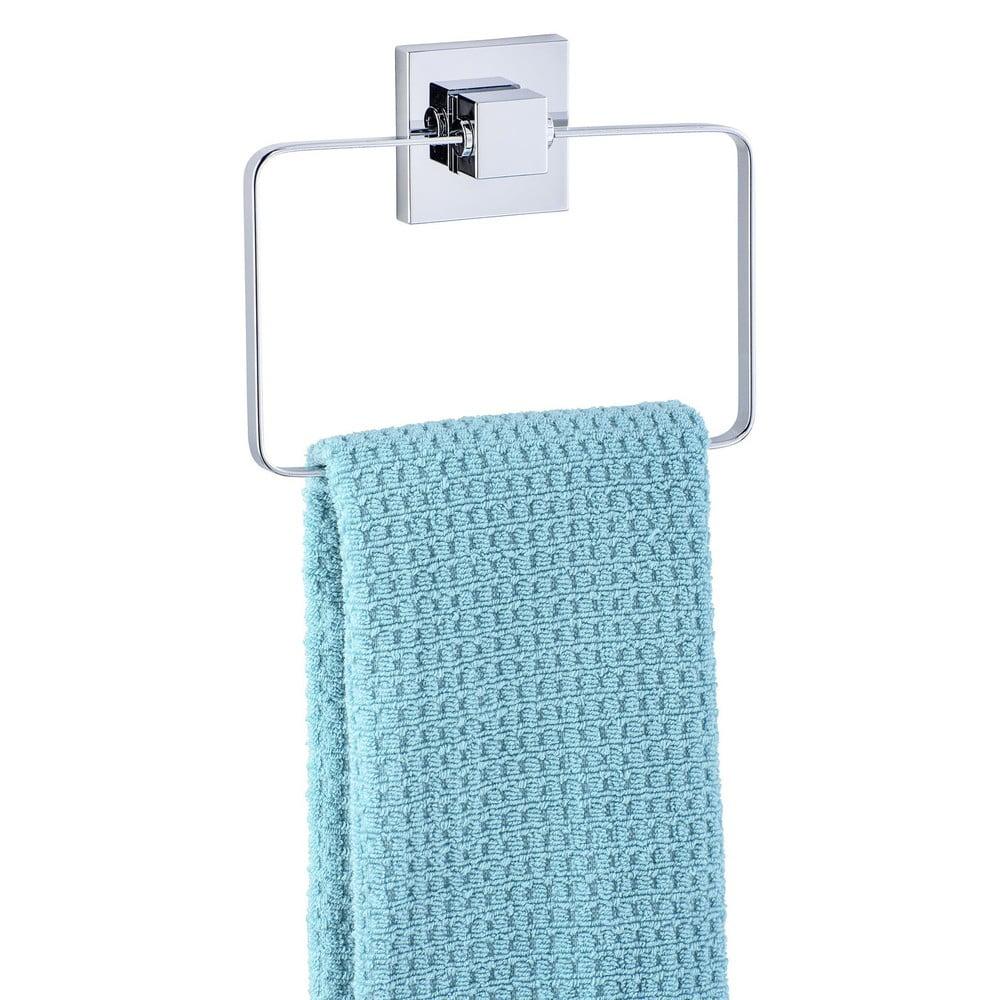 Držák na ručníky bez nutnosti vrtání Wenko Vacuum-Loc Ring, až33kg