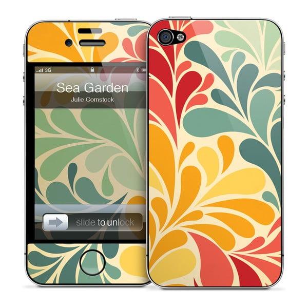 Samolepka na iPhone 4/4S, Sea garden
