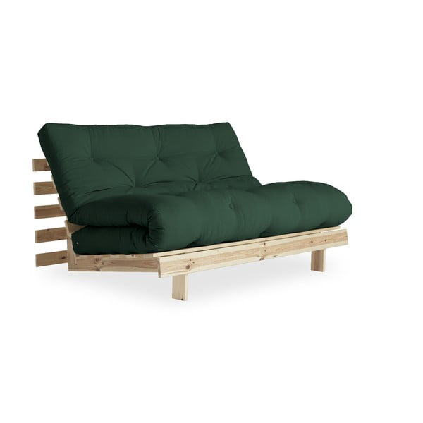 Variabilná pohovka Karup Design Roots Raw/Forest Green