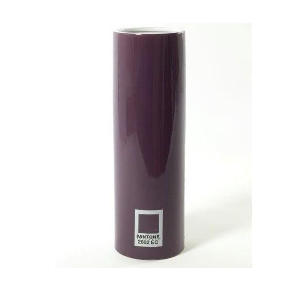 Váza Pantone Cylinder Purple, 20 cm