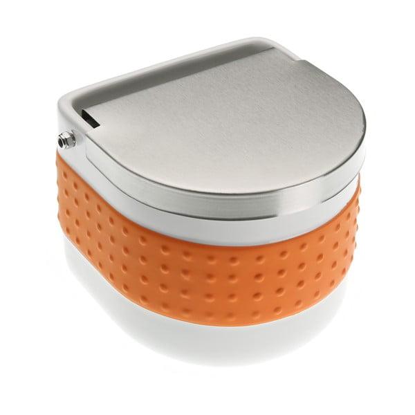 Oranžová dóza na sůl Versa Celler