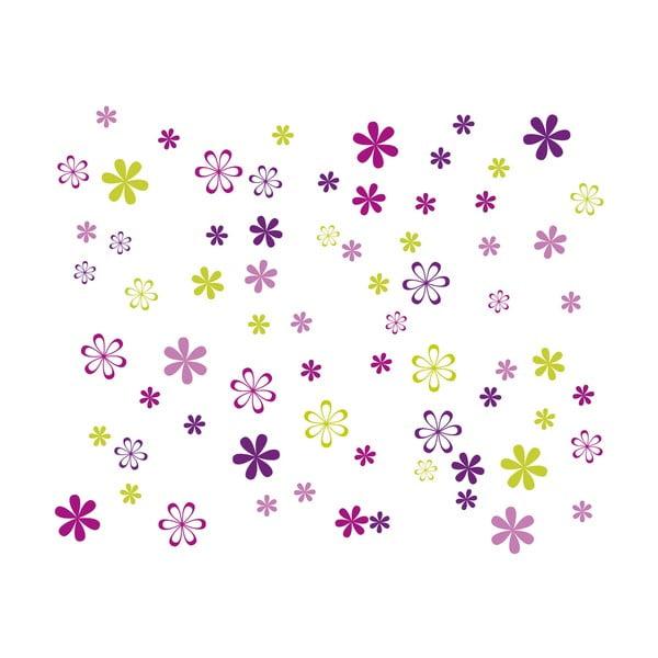 Dekorativní samolepka Jazzy Blooms
