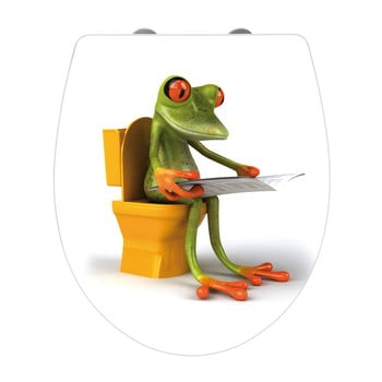 Capac WC Wenko Frog News, 45 x 38,8 cm imagine