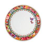 Porcelánový mělký talíř Melli Mello Eliza, 26.5 cm