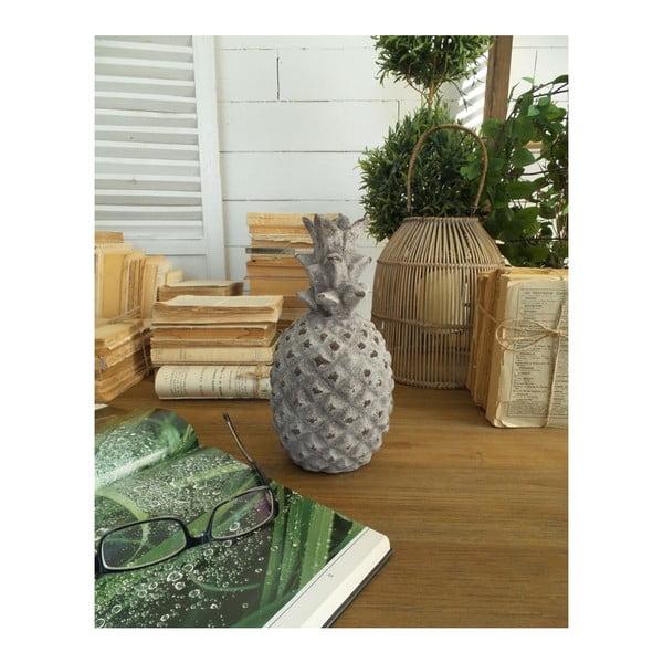 Dekoratívna soška Orchidea Milano Pineapple, výška 24 cm
