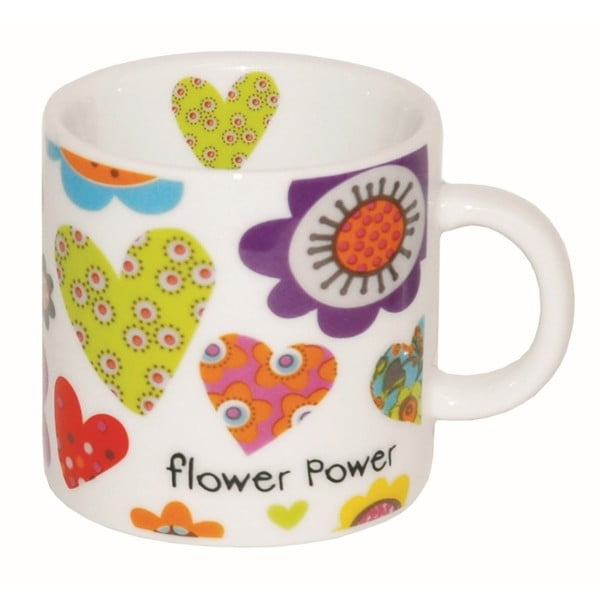 Mini hrnek Incidence Flower Power, 100 ml