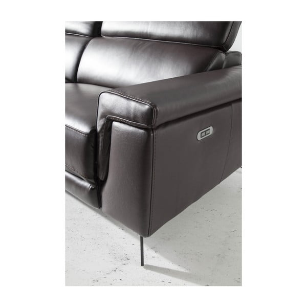 3místná kožená pohovka s relaxačním mechanismem Ángel Cerdá