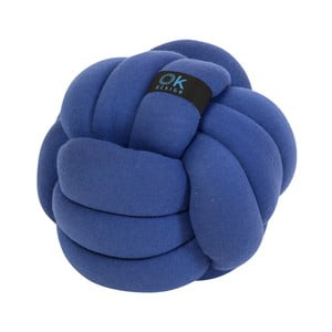 Modrý polštář OK Design Chango, Ø26cm