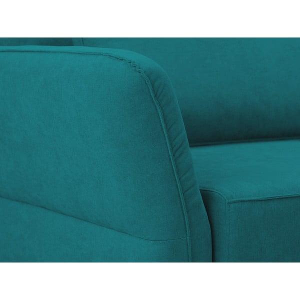 Tyrkysová trojmístná rozkládací pohovka Windsor & Co Sofas Casiopeia