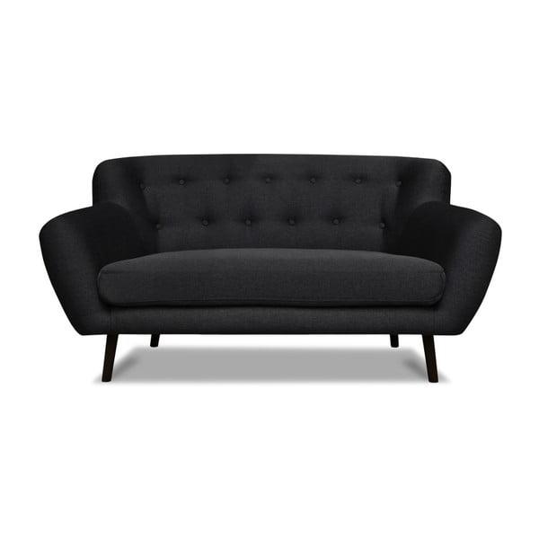 Canapea cu 2 locuri Cosmopolitan desing Hampstead, gri închis