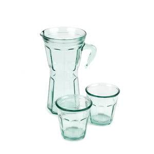 Set džbánu a 2 sklenic Madre Selva Juego