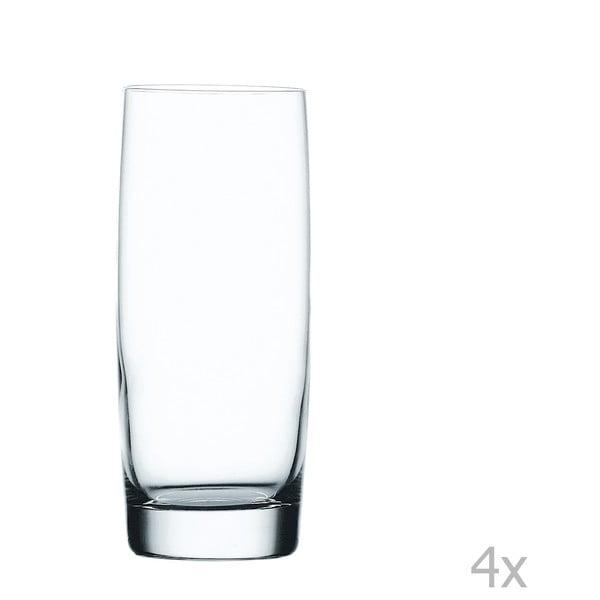 Sada 4 sklenic z křišťálového skla Nachtmann Vivendi Premium Longdrink Set, 416 ml