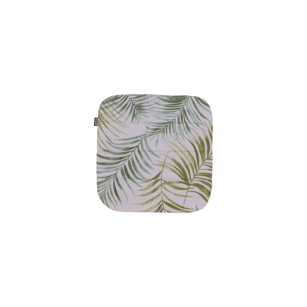 Zelený zahradní podsedák Hartman Sophie Palmtree, 39 x 40 cm
