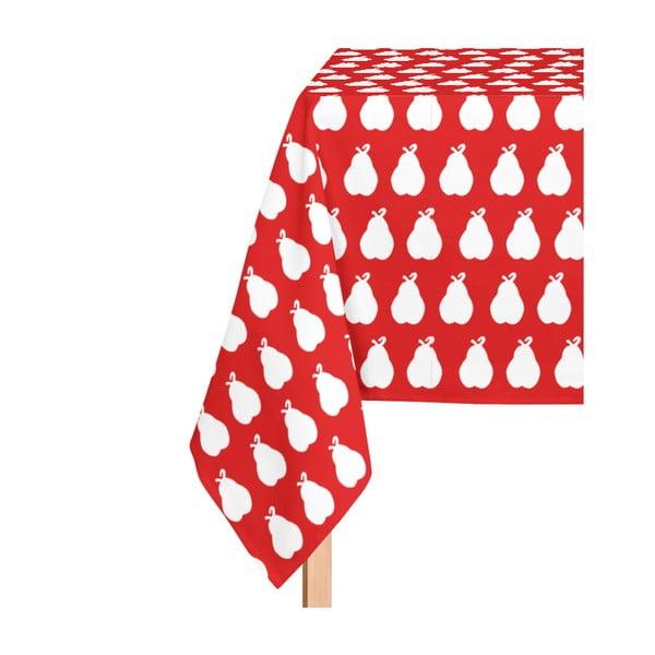 Ubrus Poire Fond Rojo, 135x220 cm