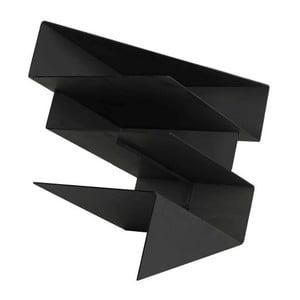 Stojan na časopisy Origami Black
