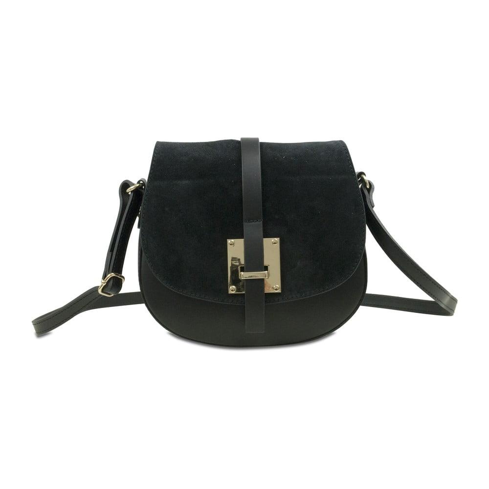 Černá kožená kabelka Infinitif Doli