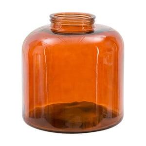 Červená váza z recyklovaného skla Mauro Ferretti Put, výška36cm