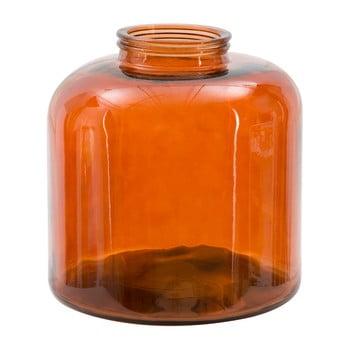 Vază din sticlă reciclată Mauro Ferretti Put, 36 cm, portocaliu de la Mauro Ferretti