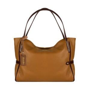 Hnědá kožená kabelka Maison Bag Koraline