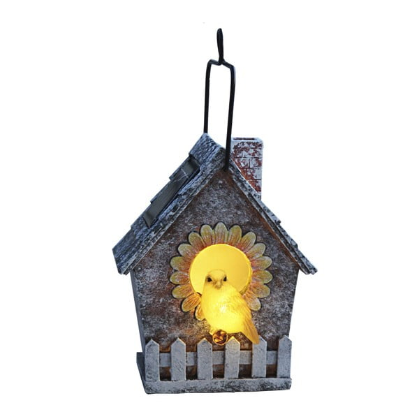 Zahradní světlo Soilar Energy Bird House