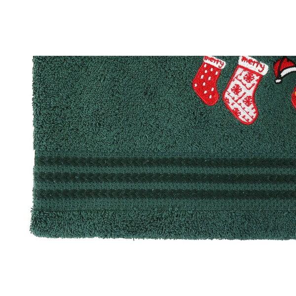 Set 2 prosoape Stockings, 70 x 140 cm, verde