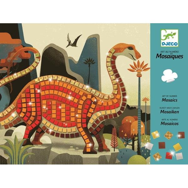 "Set creativ pentru copii Djeco ""Dinozauri strălucitori"""