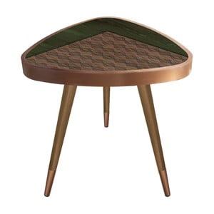 Příruční stolek Maresso Khaki Triangle, 45 x 45 cm