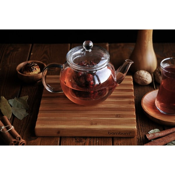 Skleněná čajová konvice Bambum Petunia, 500 ml