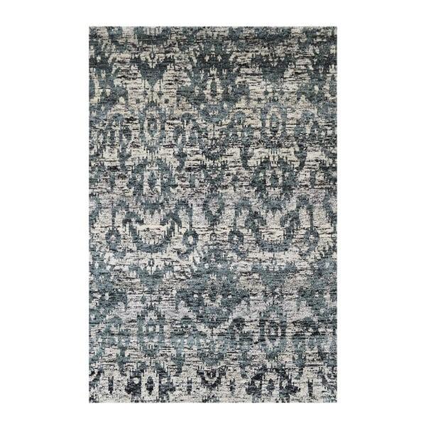 Vlněný koberec Bakero Ikat Charcoal, 120x180cm