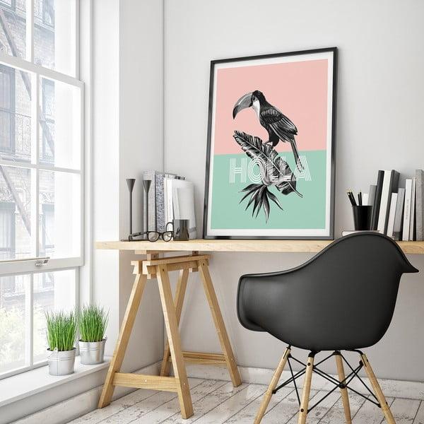 Plakát s tukanem Holla, 30 x 40 cm