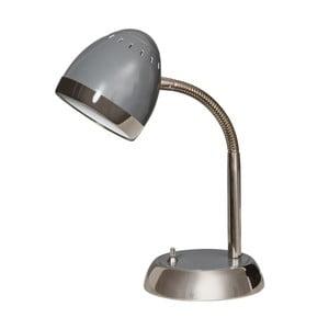 Šedá stolní lampička ETH Harley