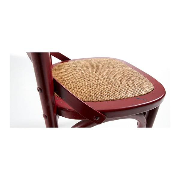 Židle Silea, červená