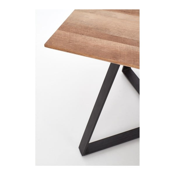 Jídelní stůl v dekoru ořechového dřeva Halmar Proton, 180x90cm