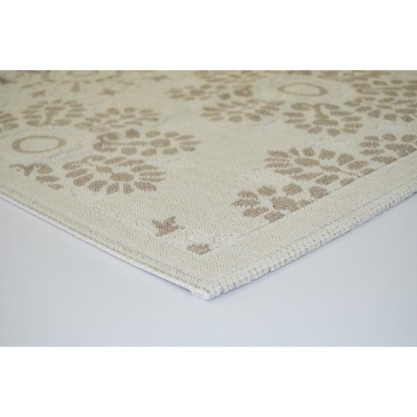 Béžový odolný koberec Vitaus Penelope, 120x180cm