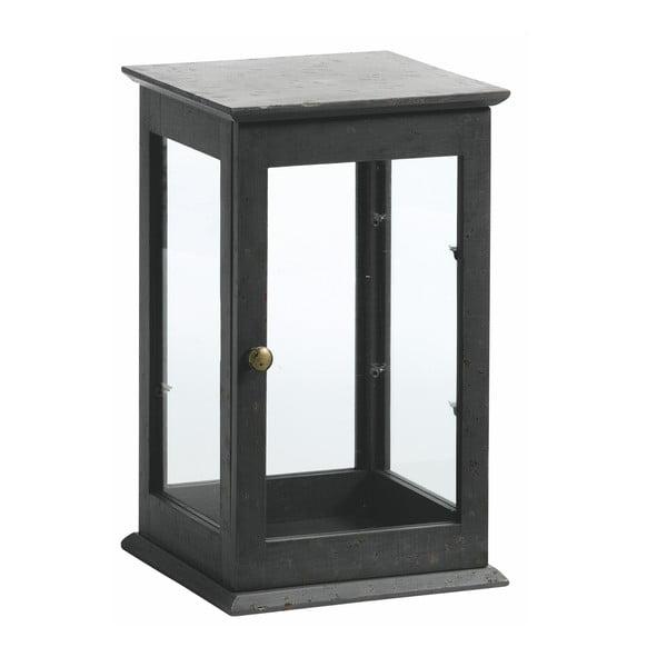 Prosklená vitrínka Cabinet, černá