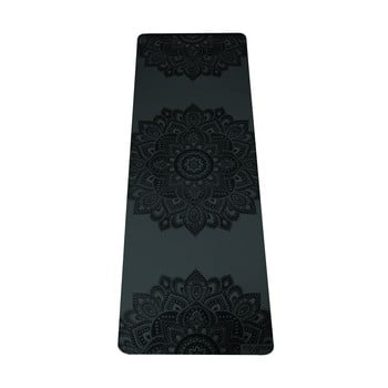 Saltea pentru yoga Yoga Design Lab Manadala Charcoal, 5 mm, negru imagine