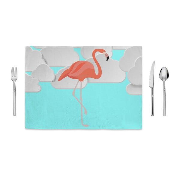 Prostírání Home de Bleu Flamingo Clouds, 35x49cm