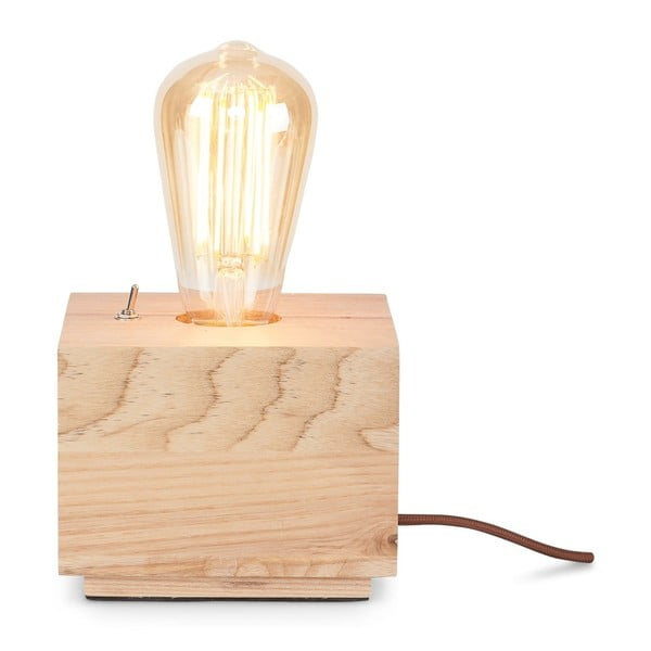 Kobe Three tölgyfa asztali lámpa - Citylights