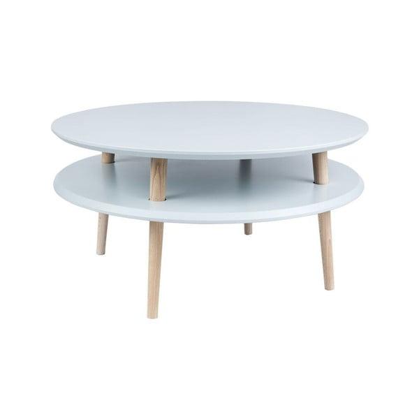 Konferenční stolek UFO 35x70 cm, šedý