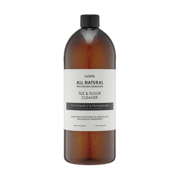 Detergent natural pentru podele cu aromă de portocală și grapefruit roz Ladelle