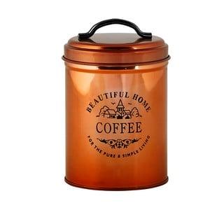 Měděná dóza na kávu