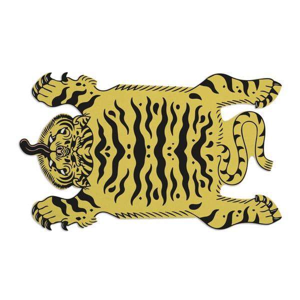 Koberec Really Nice Things Tattoo Tiger, 125 x 190 cm