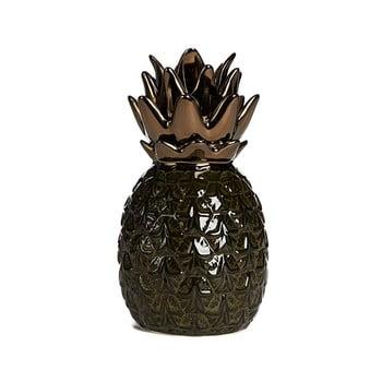 c548958231cd2c7d042f693d92a810c22056e320 350x350 - Ananas decorativ din ceramică Simla Nanas, înălțime 17,5cm, verde închis
