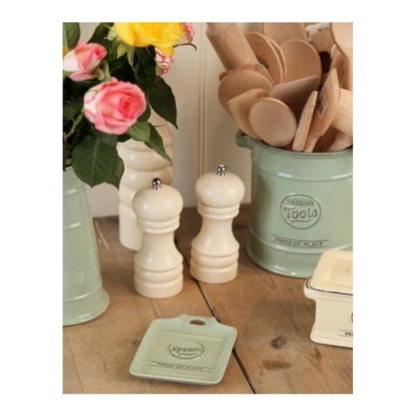 Mlýnek na sůl z kaučukovníkového dřeva T&G Woodware Capstan Cream,15cm