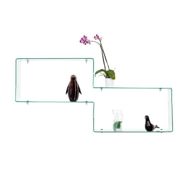 Talla üveg fali polc - Design Twist