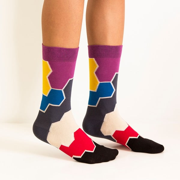 Ponožky Ballonet Socks Molecule Toy, velikost36–40