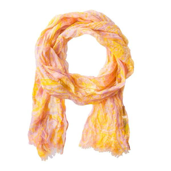 Šátek Codello Secret Graden Orange