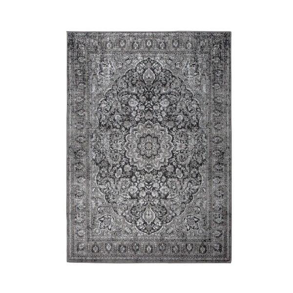 Chi fekete-szürke szőnyeg, 160 x 231 cm - White Label
